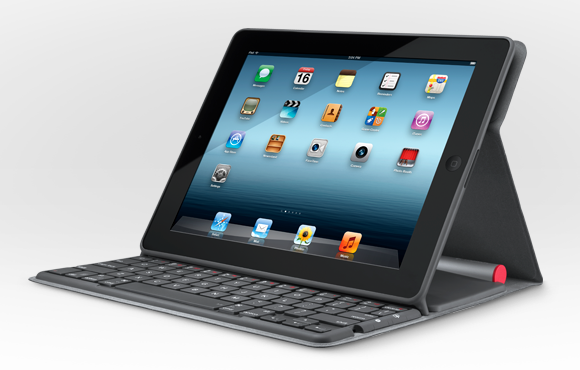 Solar Keyboard Folio for iPad - Logitech